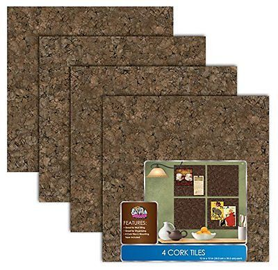 Board Dudes 12 X Dark Cork Tiles 4 Pack 82va Free Shipping New 16 32