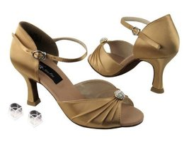 "Ladies Women Ballroom Dance Shoes from Very Fine CD2178 with HP 2.5"" Hee... - $79.95"