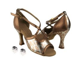 "Ladies Women Ballroom Dance Shoes Very Fine EKSPL98 Signature 3"" Heel wi... - $75.95"