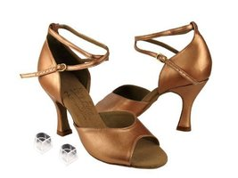 "Ladies Women Ballroom Dance Shoes Very Fine EKS9220 Signature 2.5"" Heel with ... - $75.95"