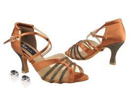 Ladies Women Ballroom Dance Shoes Very Fine Competitive Dancer EKCD3020 with ... - $79.95