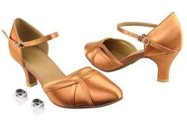"Ladies Women Ballroom Dance Shoes Very Fine EKSA3540 SERA 2.5"" Heel with Heel... - $65.95"