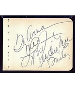 PEARL BAILEY Signed autograph album page - $41.58