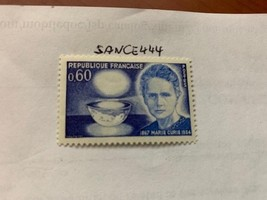 France Marie Curie physicist 1967 mnh          stamps - $1.20