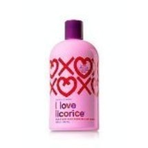 I Love Licorice 3-in-1 Body Wash By Bath Body Works Temptations Shampoo,... - $29.99