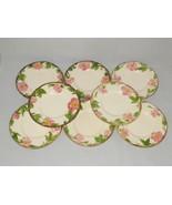 Franciscan Desert Rose Bread Plates Set of 8 Pottery Dinnerware Made in ... - $30.00