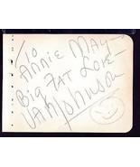 VAN JOHNSON Signed on autograph album page - $36.63