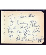 HEDDA HOPPER Signed on autograph album page - $36.63