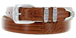 "Napa Men's Italian Calfskin Leather Designer Dress Golf Belt 1-1/8"" Wide (36,... - $24.70"
