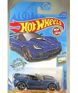 2020 Hot Wheels #144 Factory Fresh 2/10 '19 CORVETTE ZR1 CONVERTIBLE Blu... - $7.05