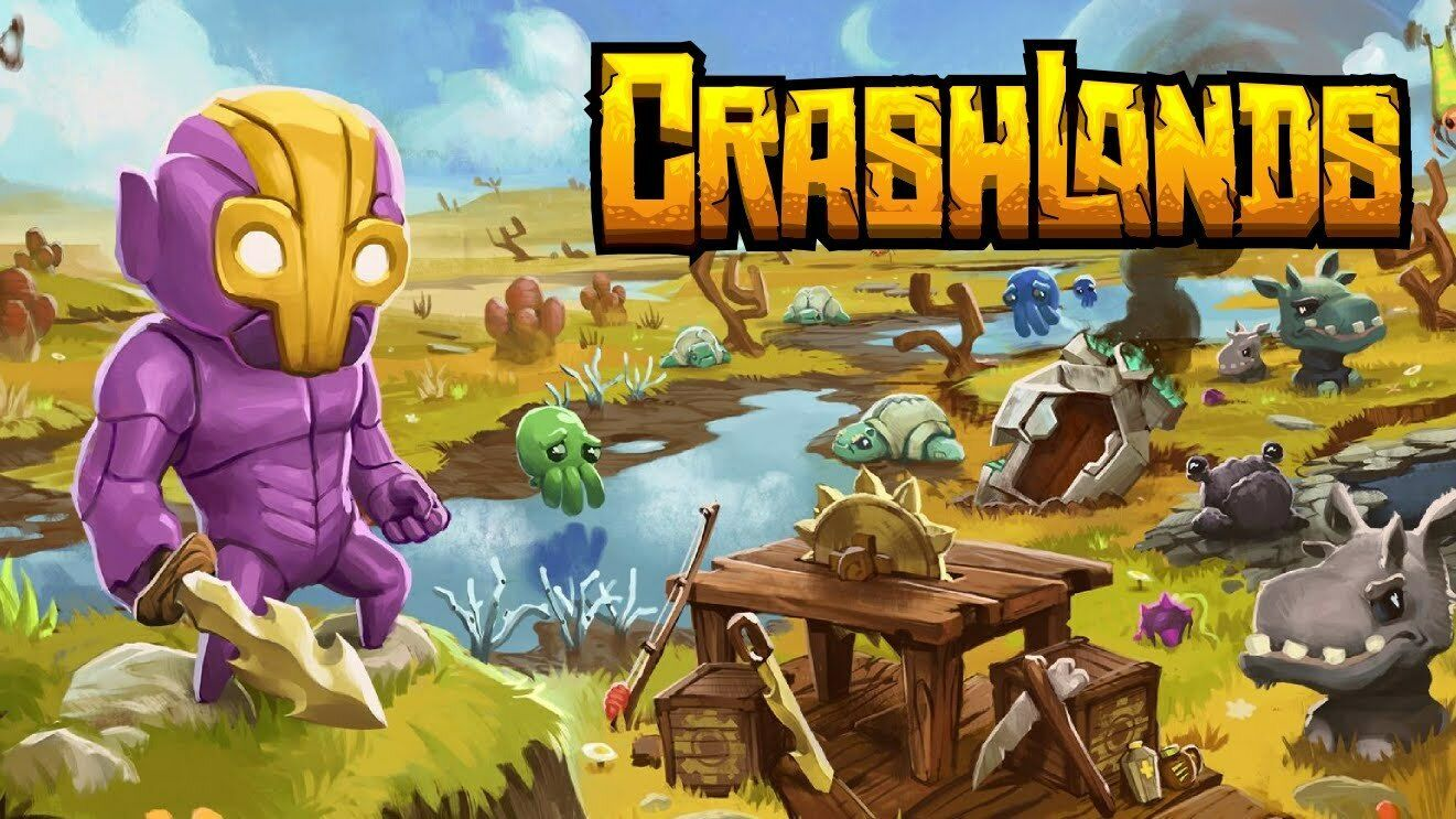 Primary image for Crashlands PC Steam Key NEW Download Game Fast Region Free
