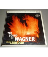 Sound of Richard Wagner Reel to Reel Tape - Erich Leinsdorf - $17.50