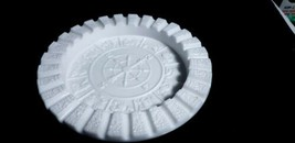 "Vintage MCM Imperial Milk Glass 9.5"" Zodiac Astrological Ashtray #520 MA... - $18.80"