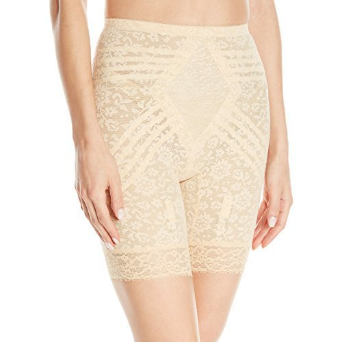Rago Women's Extra Firm Shaping Thigh Slimmer, Beige, 5X-Large (40) - $38.02