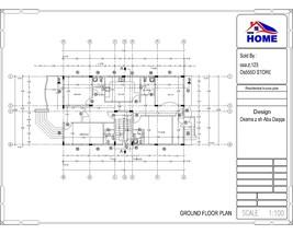 Custom Modern House Plans 8 Bedroom & 10 Bathroom With Original CAD & PDF - $24.74