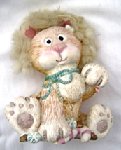 Enesco Heavenly Peace Lion Figure Decorate Christmas with God's Sweet Love 1995 - $29.99