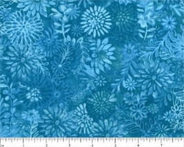 """Tone on Tone Novelty Design on Teal -108"""" Wide-Choice Fabrics-BTY - $14.95"""