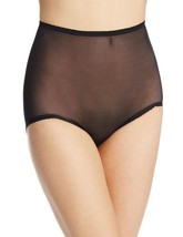 Rago Women's V Leg Light Weight Control Brief Panty, Black, Medium (28) - $16.93