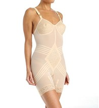 Rago Shapewear Body Briefer / Body Shaper Style 9071 - Beige - 48DD - $62.37