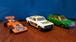 No. 7 VW Golf No. 9 Ford Escort RS2000 No 36 Formula 5000 Matchbox Engla... - $30.00