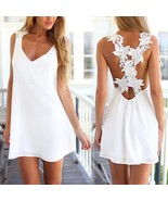 Sexy Womens Summer #B Casual Sleeveless Party Evening Cocktail Short Min... - $162,74 MXN