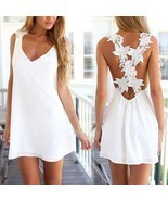 Sexy Womens Summer Casual #B Sleeveless Party Evening Cocktail Short Min... - £4.62 GBP