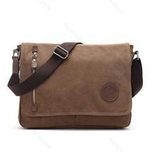 Men Vintage Canvas Messenger Shoulder Bag Crossbody Sling #B School Bags... - $23.02