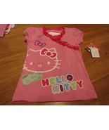 Girls Hello Kitty shirt Pink 4  22.00 NWT NEW youth TEE  ^^ - $11.87