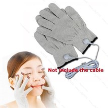 CONDUCTIVE ELECTROTHERAPY #B MASSAGE ELECTRODE GLOVES USE WITH TENS MACH... - $5.74
