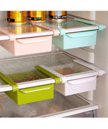 Fridge Organizer Freezer Space Saver Shelf Rack Holder #B Storage Drawer... - $61,26 MXN+