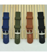 Militray Army Nylon Canvas  Wrist Watch Band Strap #B 18mm 20mm 22mm 24m... - $20,67 MXN+