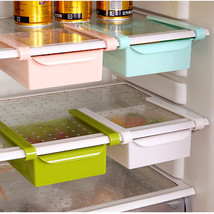 Fridge Organizer #B Freezer Space Saver Shelf Rack Holder Storage Drawer... - $4.45+