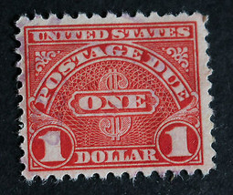 US Stamp J87 With Extra Light Cancel  (Looks Mint) - $6.99