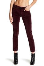 NWT! $119 Lucky Brand Lolita Velvet Skinny Jeans - Size 32 Color:Winetastin - $33.94