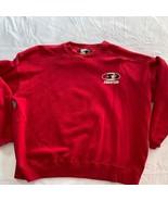 Starter Sweatshirt Red  Blank  XL Red - $16.63