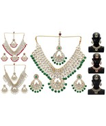 Indian Traditional Bollywood Fashion Kundan Bridal & Wedding Party Jewel... - $39.75