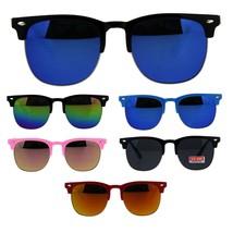 Kids Size Childern Half Horn Rim Hipster Nerdy Sunglasses - $9.95
