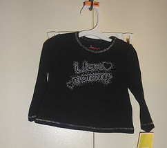 Circo Girls Infant Long Sleeve Top  Sizes 9 Months Nwt (I Love Mommy) - $4.40