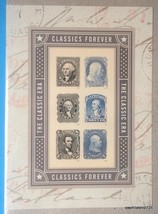 US Classics Forever Sheetlet, 2016(Sheet of 6 stamps) VF MNH  [Free ship... - $6.44