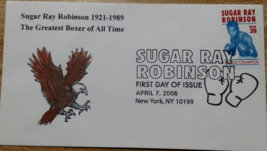 Sugar Ray Robinson 1921 - 1989 First Day Issue 2006 Mint - $5.95