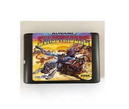 Sunset Riders 16-Bit Sega Genesis Mega Drive Game Reproduction (Free Shi... - $11.99