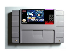 Space Megaforce SNES 16-Bit Game Reproduction Cartridge USA NTSC Only En... - $24.99