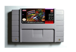 Captain America and the Avengers SNES 16-Bit Game Reproduction Cartridge... - $24.99