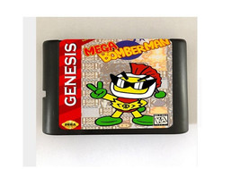 Mega Bomberman 16-Bit Sega Genesis Mega Drive Game Reproduction (Free Sh... - $11.99