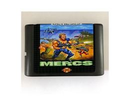 Mercs 16-Bit Sega Genesis Mega Drive Game Reproduction (Free Shipping) - $11.99