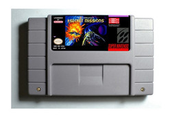 Wing Commander The Secret Missions SNES 16-Bit Game Reproduction Cartridge - $24.99