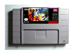 Gods SNES 16-Bit Game Reproduction Cartridge USA NTSC Only English Language - $24.99
