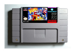 Plok SNES 16-Bit Game Reproduction Cartridge USA NTSC Only English Language - $16.99