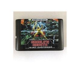 Ghouls'n Ghosts 16-Bit Sega Genesis Mega Drive Game Reproduction (Free S... - $11.99
