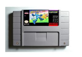 Mega Man Soccer SNES 16-Bit Game Reproduction Cartridge USA NTSC Only En... - $24.99